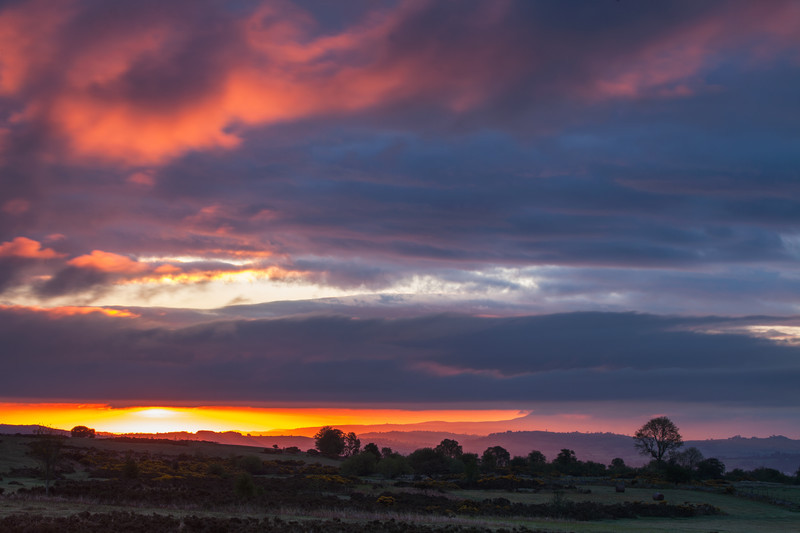 Beacons Sunrise. Wales - New Work