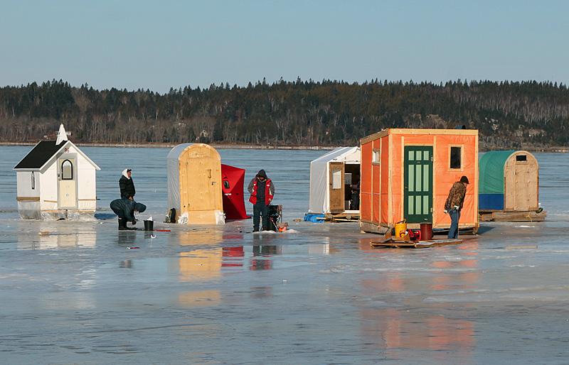 Ice fishing canada new brunswick for Ice fishing canada