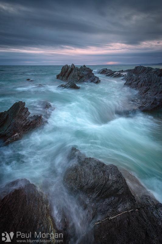 Tides Of Temper II - Landscape (Vertical)