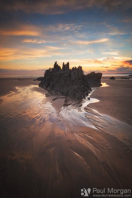 Sand Castle - Landscape (Vertical)