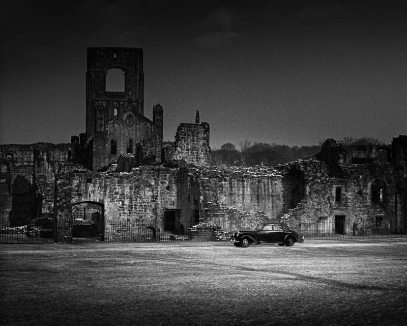 Kirkstall Abbey and Car