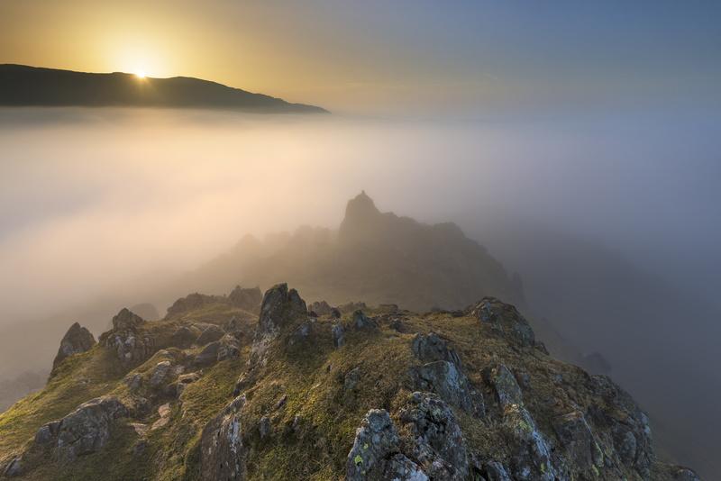 Helm Crag sunrise - Lake District & Cumbria