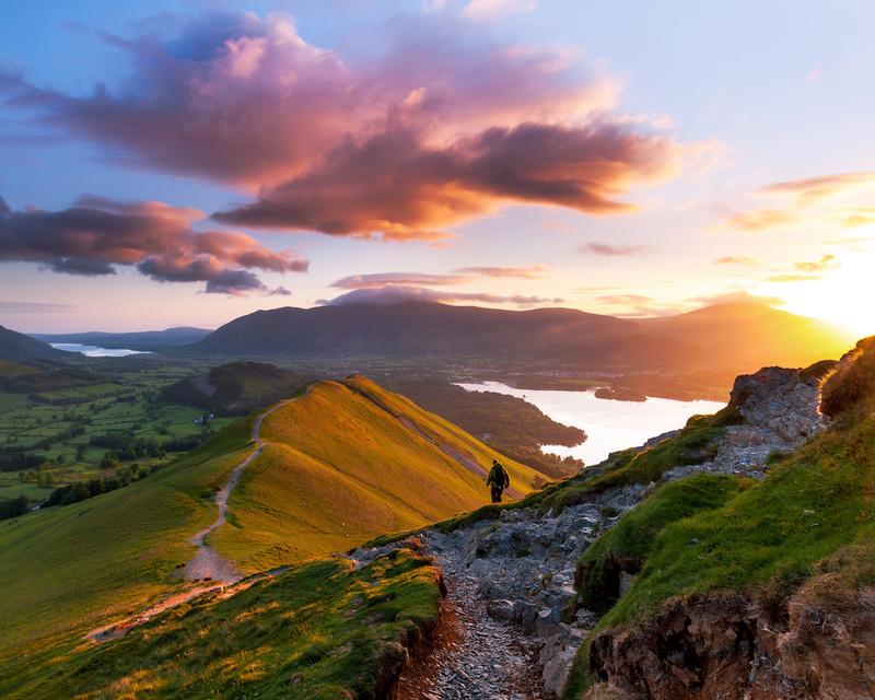Catbells sunrise, Lake District - Lake District & Cumbria