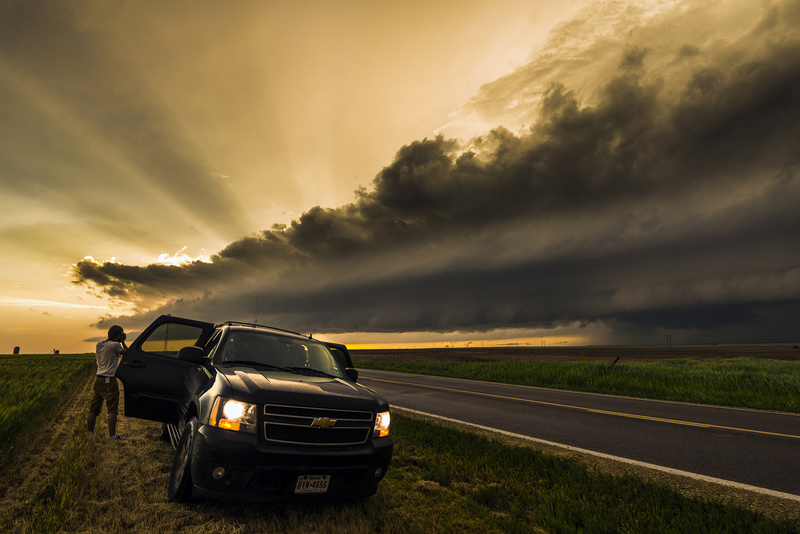 Smith County supercell. - Storm photography