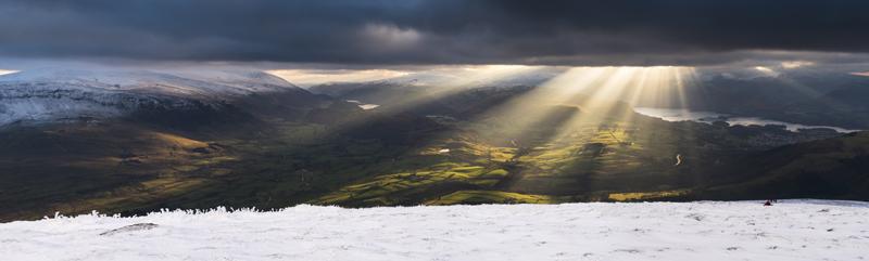 Naddle Beck light - Lake District & Cumbria