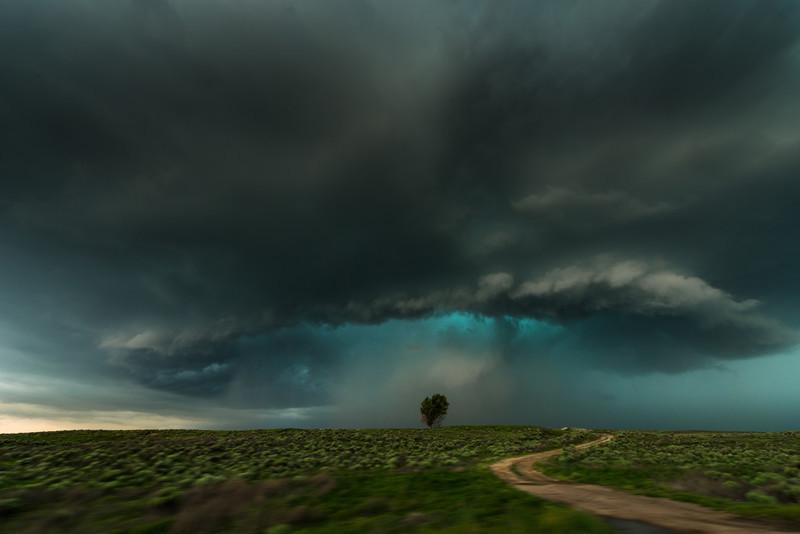 Lamar storm. Colorado. - Storm photography