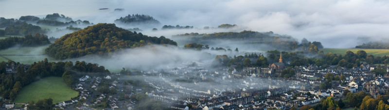 Keswick town - Lake District & Cumbria