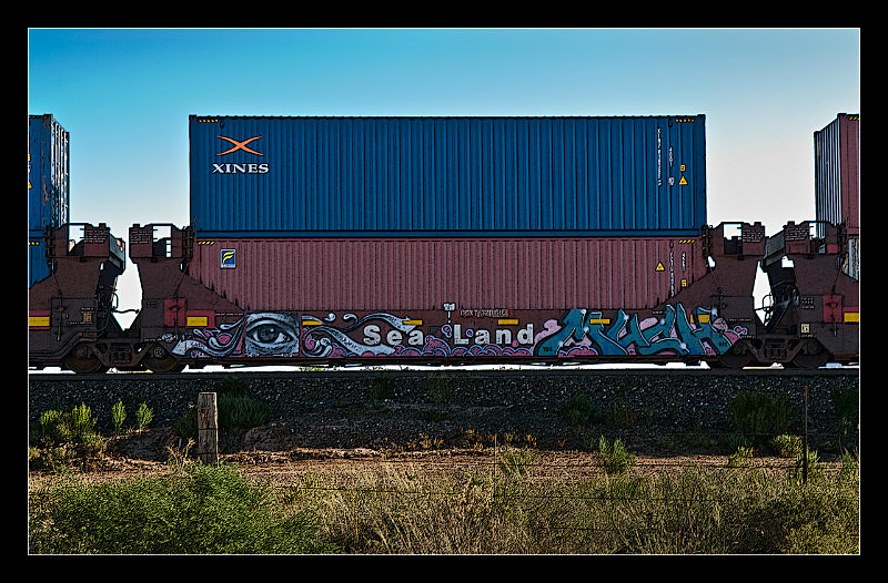 Railcar Graffiti - Railroad