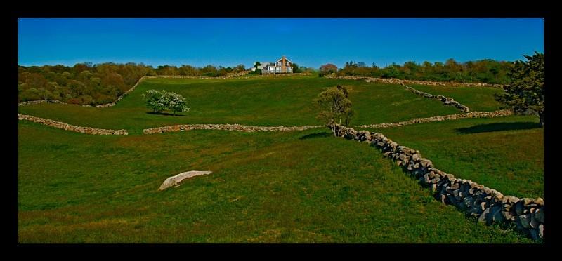 Stone Fences - Landscapes