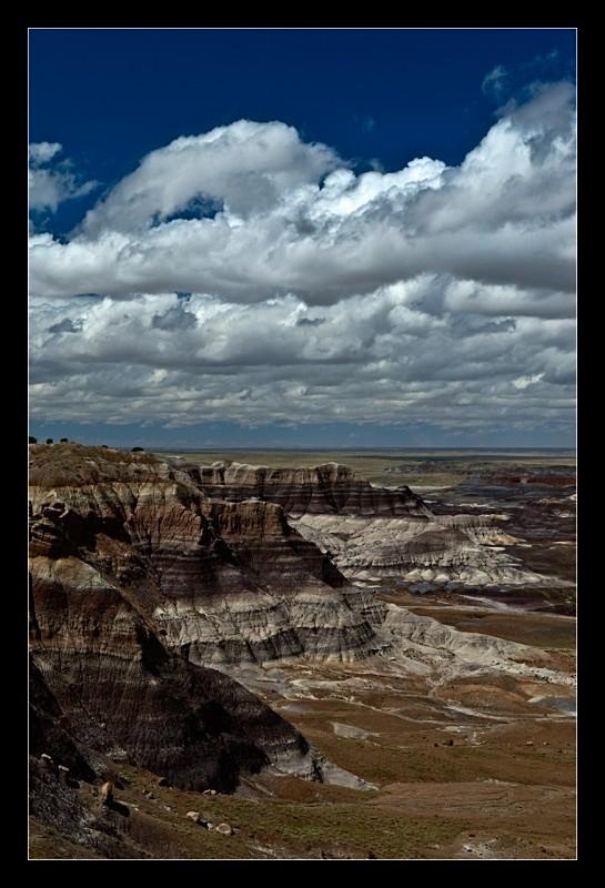Cliffs and Clouds - Landscapes