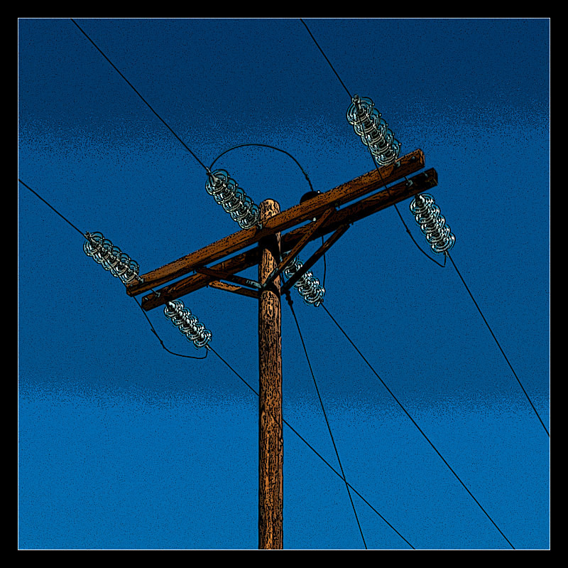 Power Pole and Glass - Details