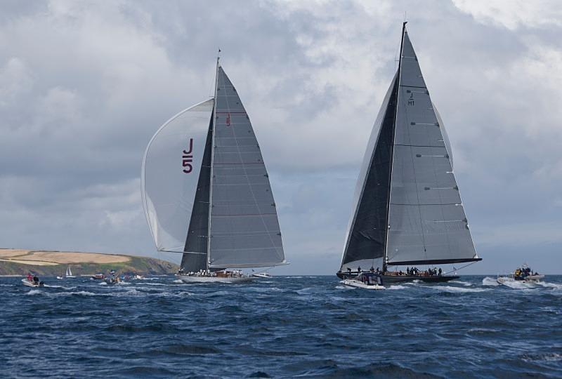 J Class yachts Falmouth