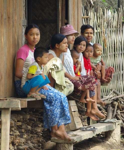 Irrawaddy Villagers - Burma