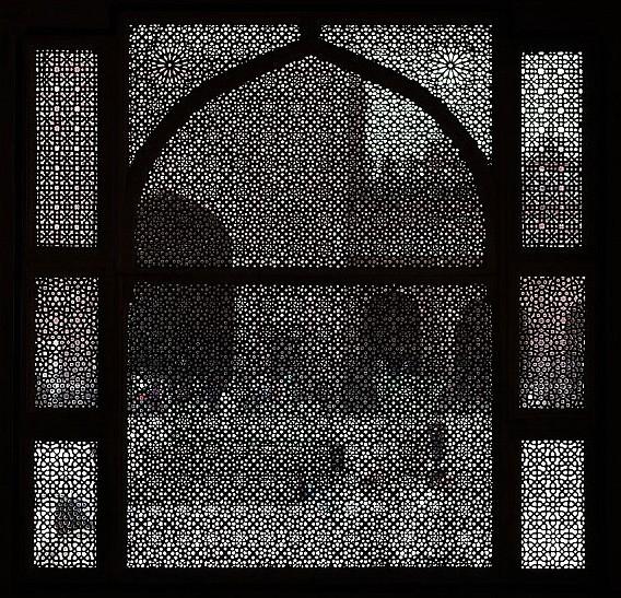 Marble screen - India (Assam, Brahmaputra cruise, Agra and Jaipur)