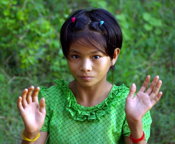 Village girl 2 - Burma