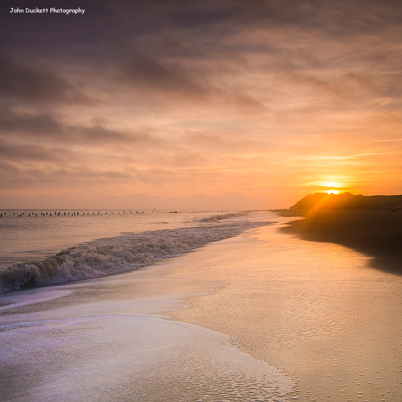 Norfolk Coast photograph of Happisburgh