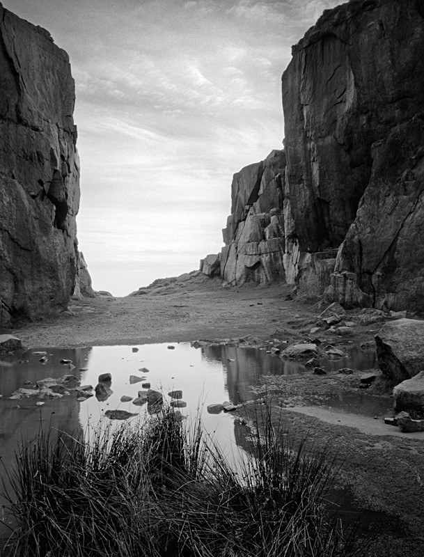 The Quarry on Ilkley moor - Landscapes