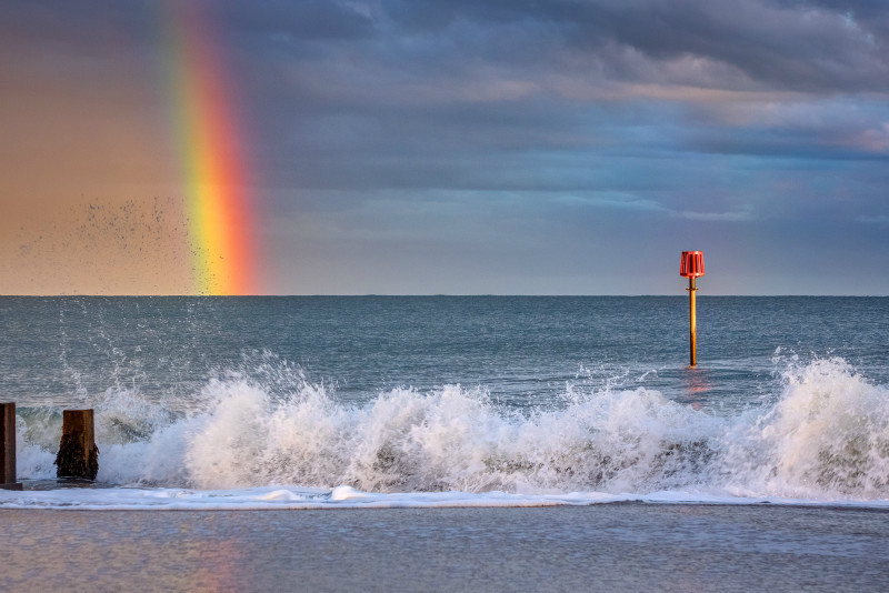 z3111 Passing Shower, Sandown Bay - Latest Photos
