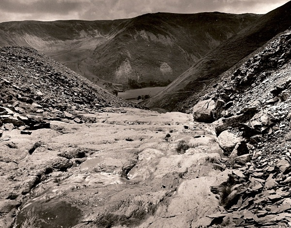 CWMYSTWYTH LEAD MINES, From Copa Hill, Credigion 1993 - THE WELSH LANDSCAPE