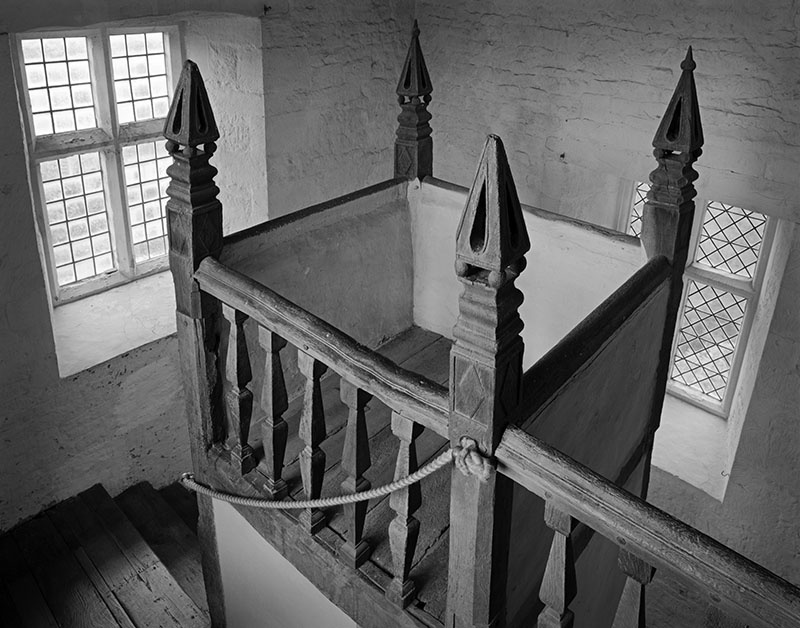 2408 - Chastleton House - West Staircase - Chastleton House - National Trust